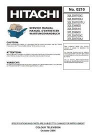 32LD8700U Service Manual
