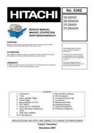 32LD8A20 Service Manual