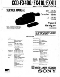 CCD-FX410 Series Service Manual