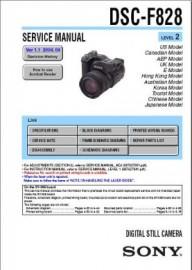 Cybershot DSC-F828 Service Manual