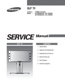 HLP5685WX/XAC Service Manual
