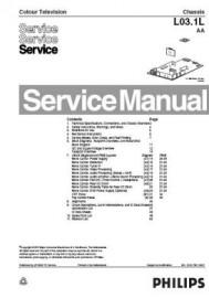 14PT3132/85R Service Manual